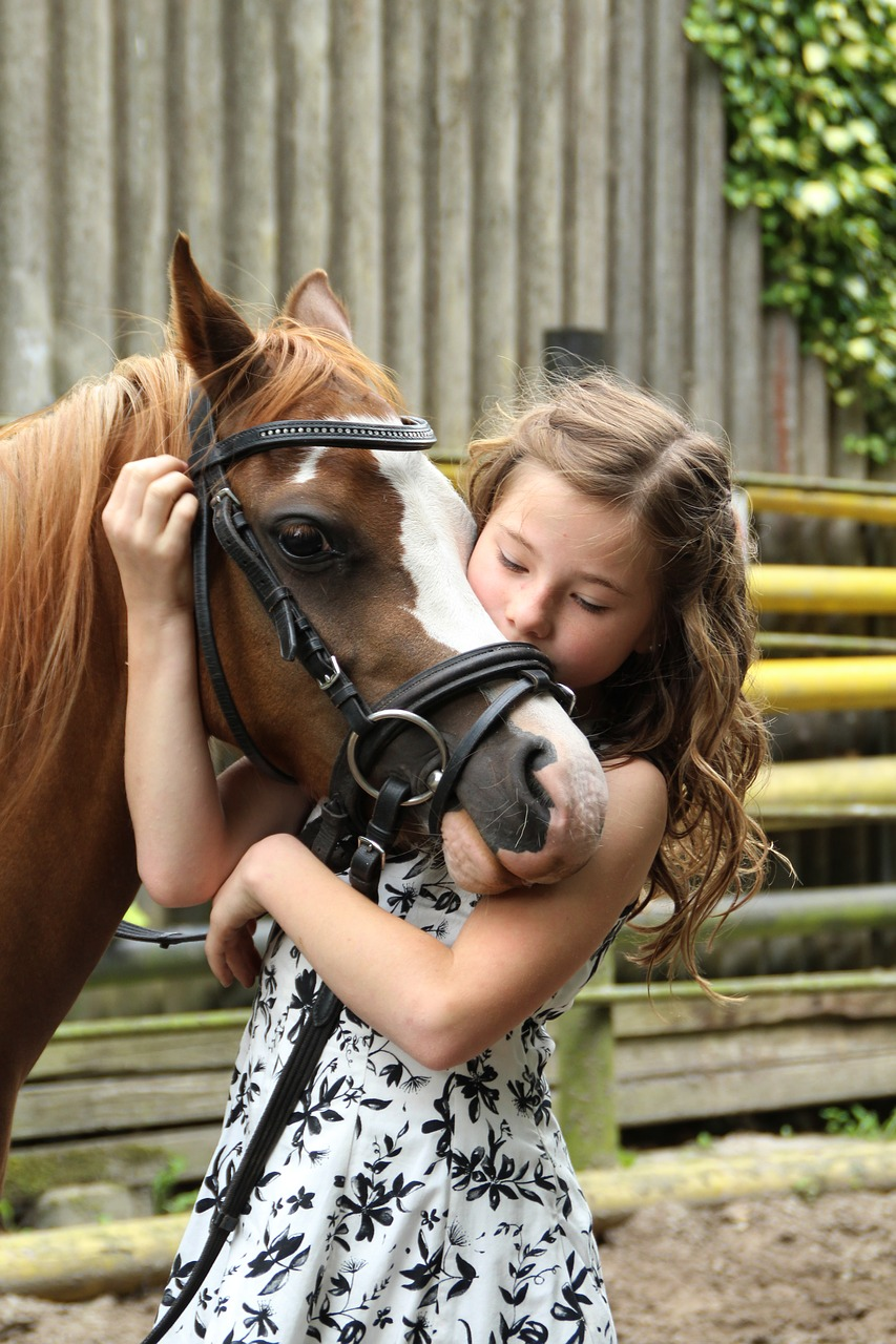 børn og heste