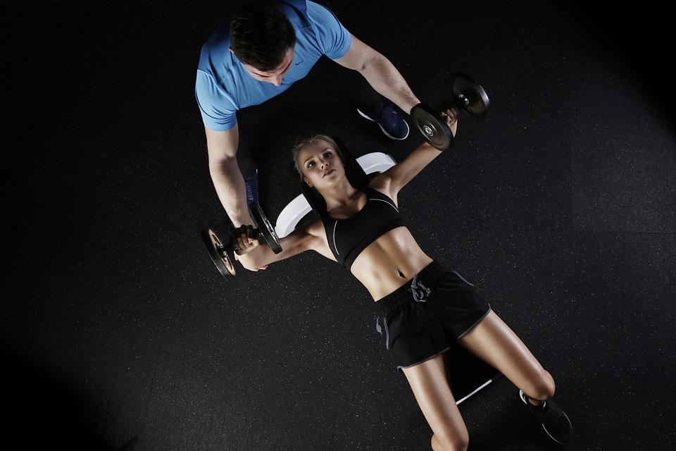 Træning i fitnesscenter