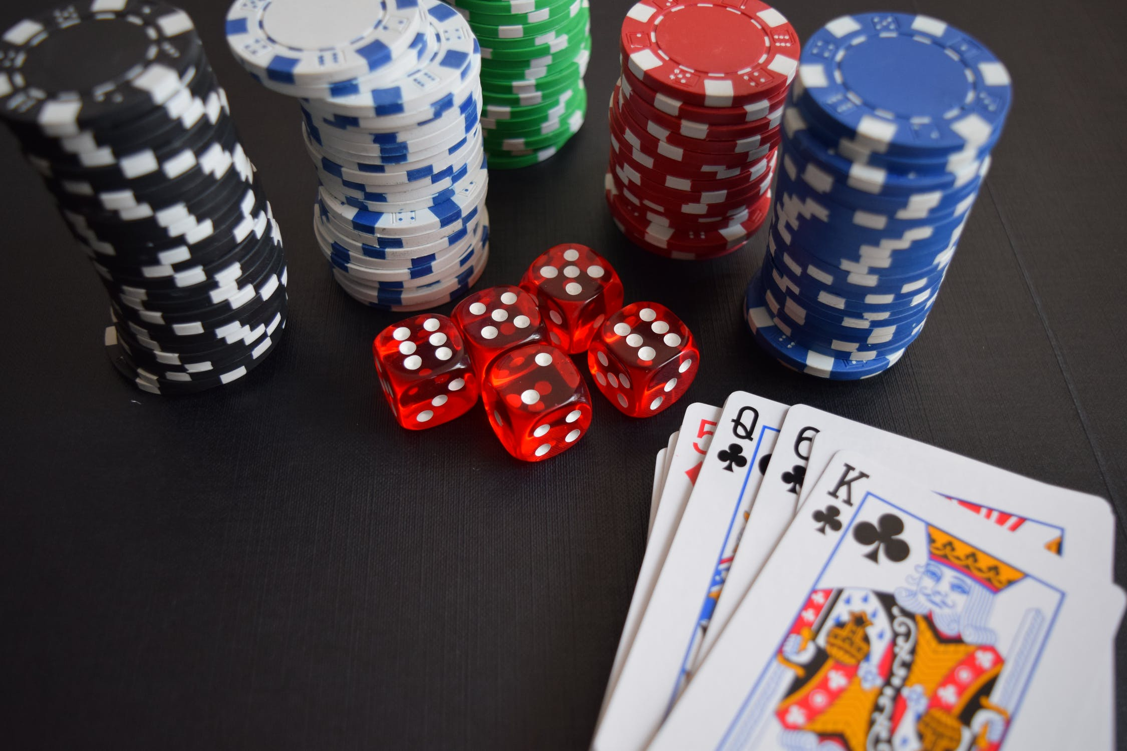 Poker setup